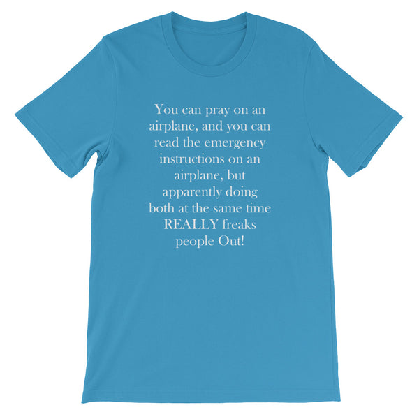 """You Can Pray"" Short-Sleeve Unisex T-Shirt 5Colors"