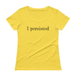 Ladies' Persisted Scoopneck T-Shirt