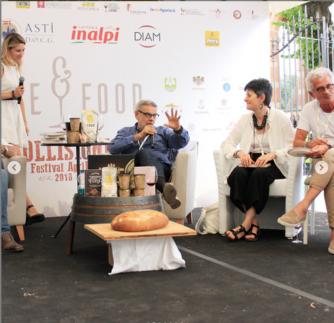 The Panel Discussion about Flour and Chocolate.