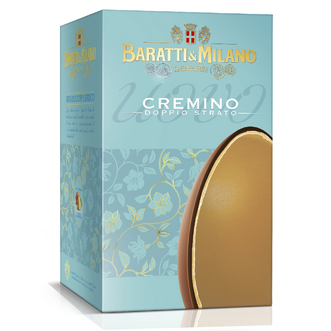 Baratti & Milano Double Layer Cremino Easter Egg 250 Grams PRE ORDER