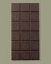 Dark Chocolate Bar with Crystallized Mint (1/2 Case)