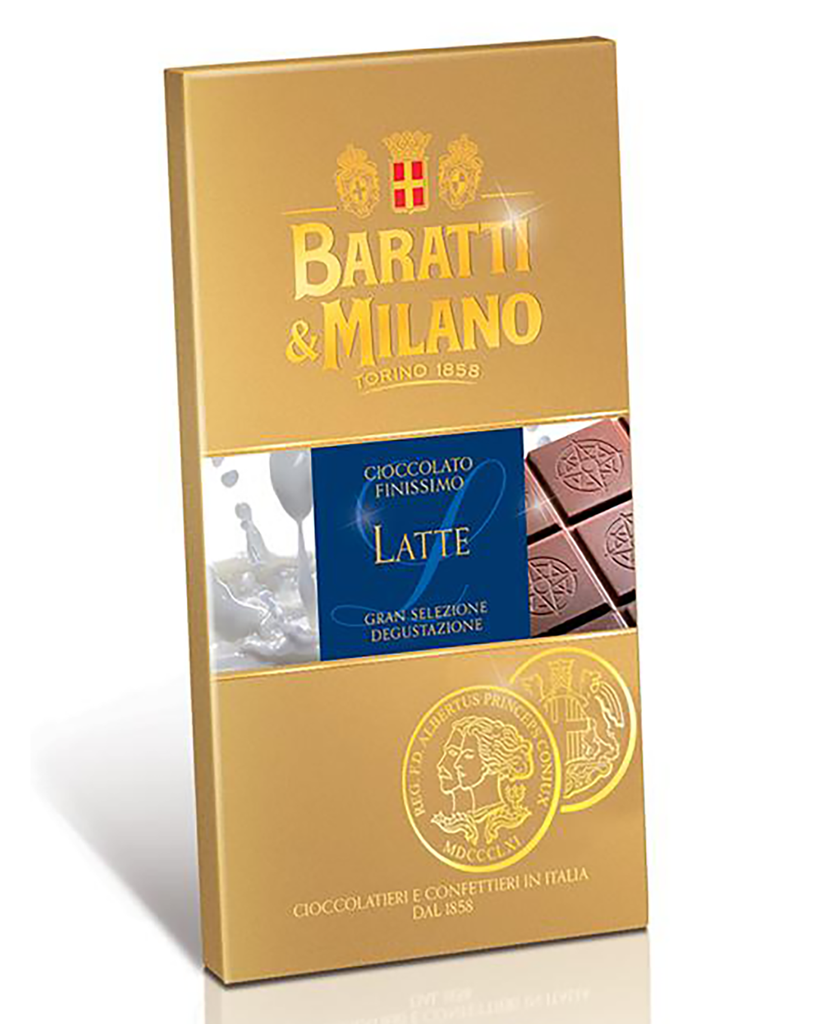 "Extra Fine Milk ""Latte""  Chocolate Bar (1/2 Case)"