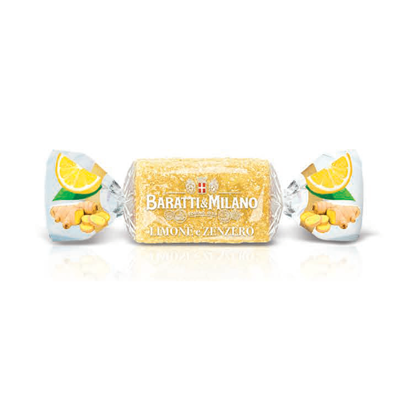 Baratti And Milano Luxury Italian Candy Lemon And Ginger Giada Gelee