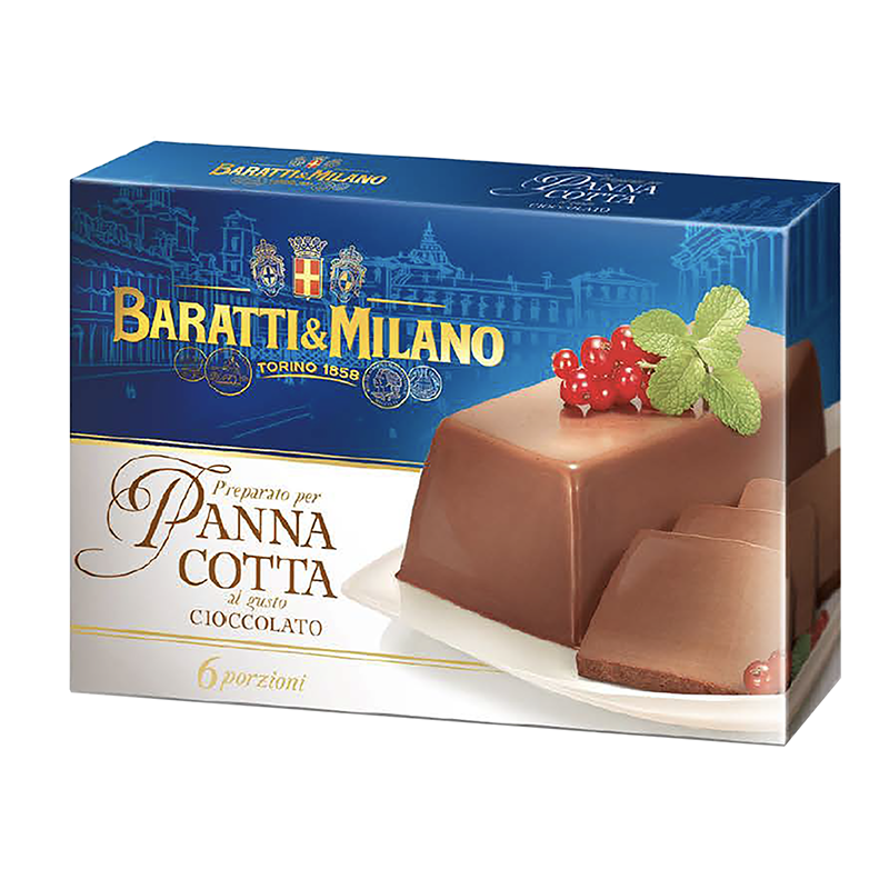 Baratti Milano Panna Cotta Chocolate Easy Mix