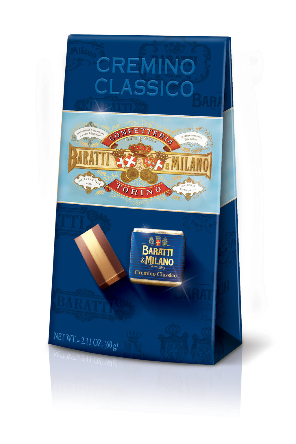 Ballotin of Cremino Classico, Hazelnut Chocolate (Case 20pc)