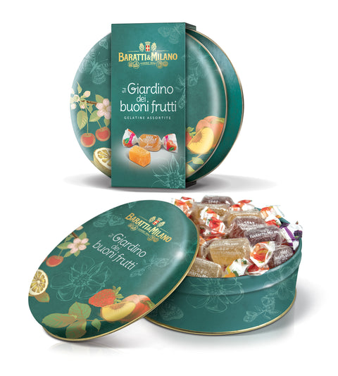 Fruit Gelées in Garden Tin