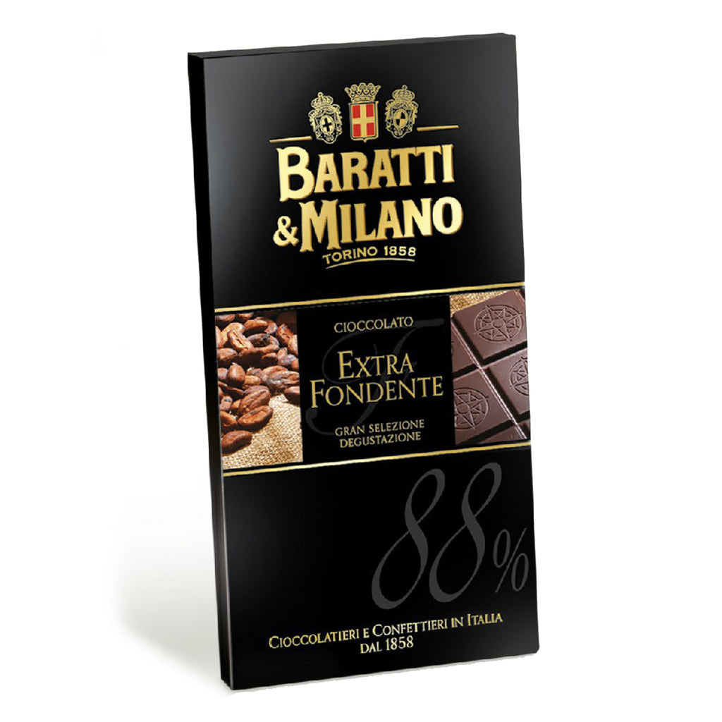 Extra Dark Chocolate 88% Bar (1/2 Case)