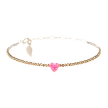 HAPPY HEART BRACELET- SMALL PENDANT
