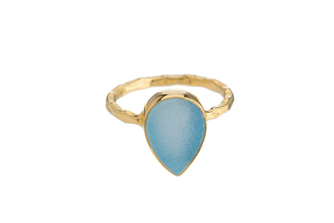 BLUE DRUZY RING (3 SHAPES)
