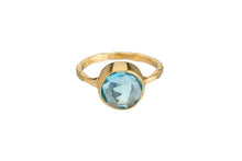 BLUE TOPAZ RING (3 SHAPES)