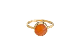CARNELIAN RING (2 SHAPES)
