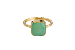 CHRYSOPRASE RING (3 SHAPES)