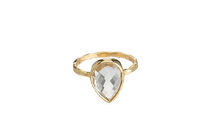 CRYSTAL QUARTZ RING (3 SHAPES)