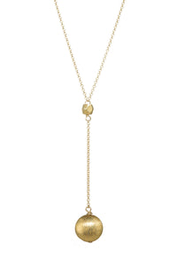 BRUSH PENDANT Lariat