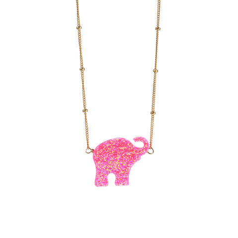 GOOD LUCK ELEPHANT NECKLACE - LARGE