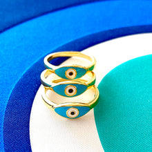 Evil Eye MYKONOS Ring