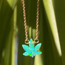 GANJA LEAF NECKLACE