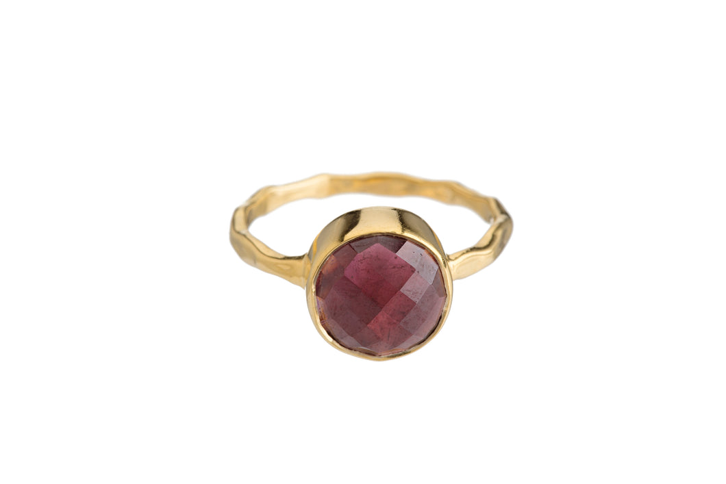 GARNET RING (3 SHAPES)