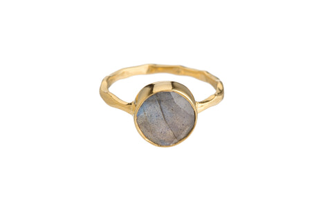 LABRADORITE RING (2 SHAPES)