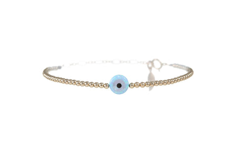 GOOD LUCK EVIL EYE BRACELET - MEDIUM pendant