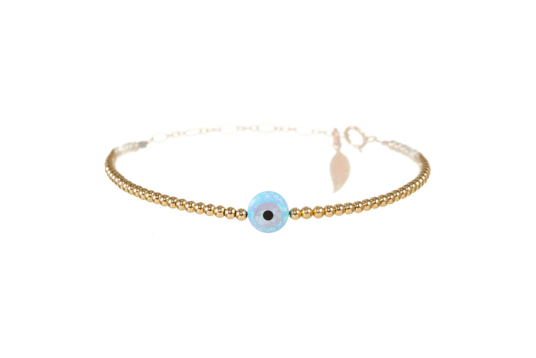 GOOD LUCK EVIL EYE BRACELET - SMALL PENDENT