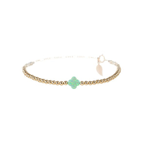 GOOD LUCK CLOVER BRACELET - Medium