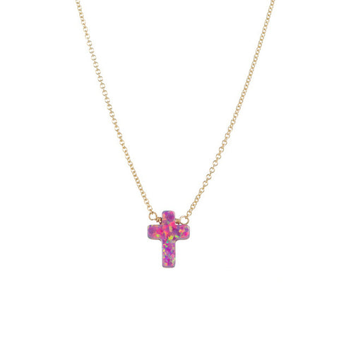 CROSS NECKLACE - LARGE