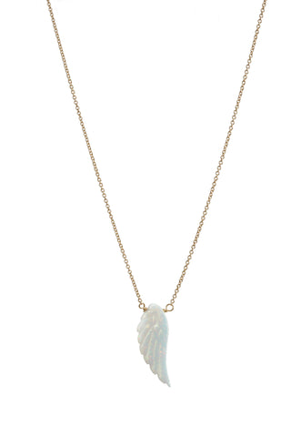 ANGEL WING OPAL NECKLACE