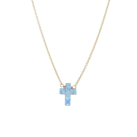 CROSS NECKLACE - SMALL PENDANT