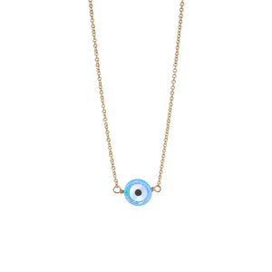 "EVIL EYE ""WARD OFF EVIL"" NECKLACE - SMALL"