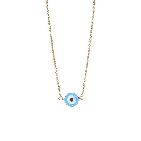 "EVIL EYE ""WARD OFF EVIL"" NECKLACE - SMALL PENDANT"