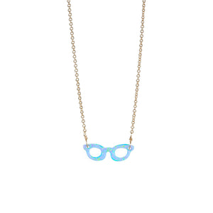 "GLASSES ""SEE WHAT'S UP"" NECKLACE"