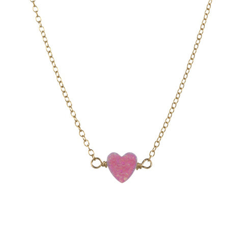 HAPPY HEART NECKLACE - SMALL