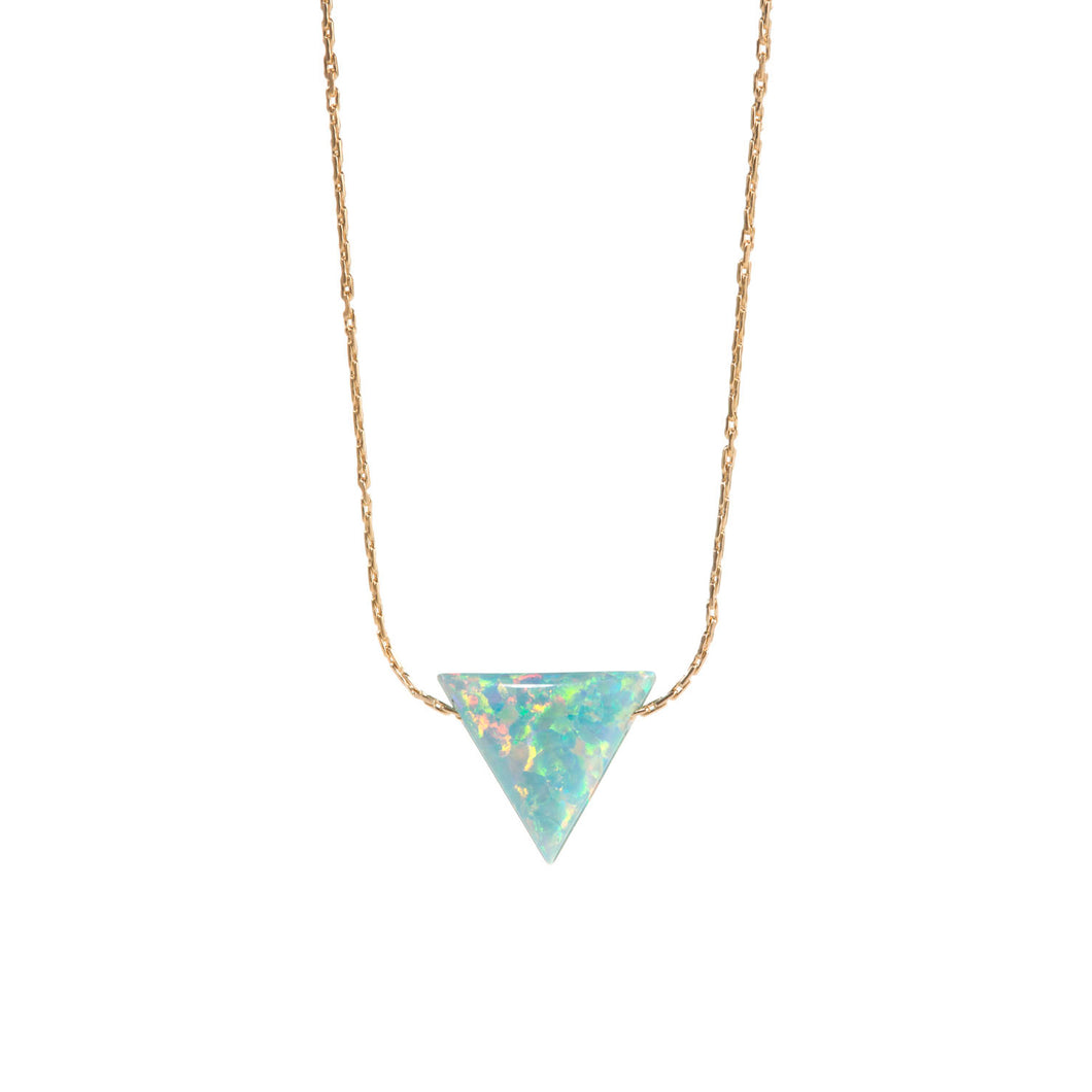 TRIANGLE NECKLACE - LARGE