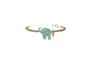 GOOD LUCK ELEPHANT Bracelet - LARGE PENDANT