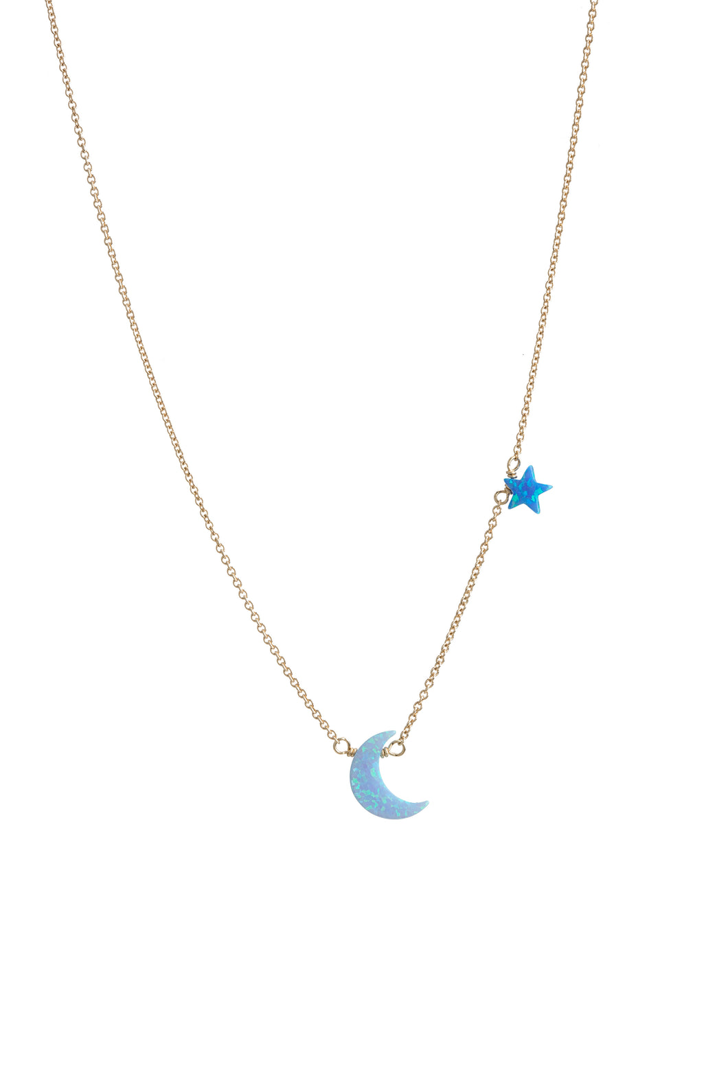 MOON+STAR NECKLACE