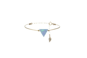 TRIANGLE BRACELET LARGE PENDANT