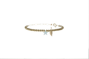 "STAR ""THAT I AM"" BRACELET - LARGE PENDENT"