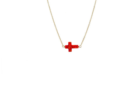 CROSS NECKLACE - LARGE PENDANT