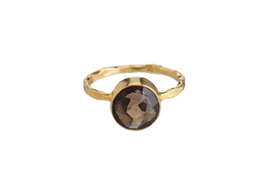 SMOKEY TOPAZ RING (2 SHAPES)