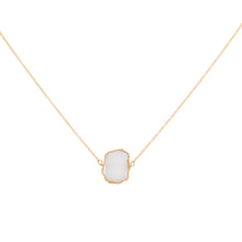 SPS BEZEL SLICES NECKLACE