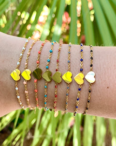 Heart Dotted Bracelet