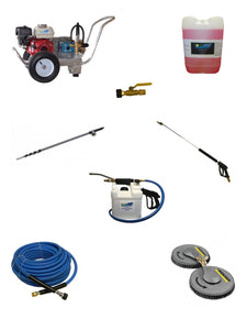 Solar Panel Cleaning Combo Package for Contractors