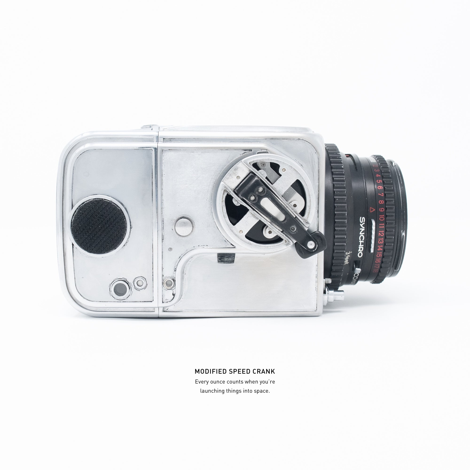 NASA Mercury Hasselblad (Space Chrome)