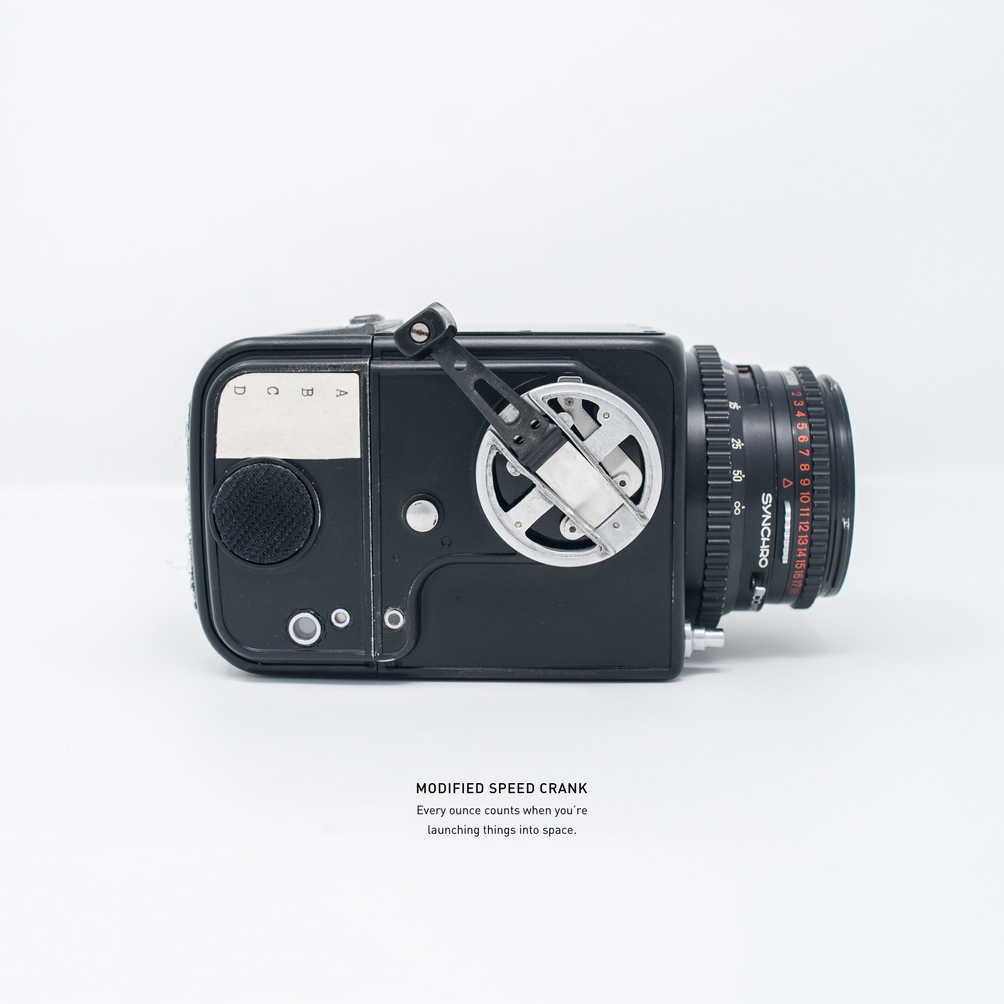 NASA Mercury Hasselblad (Anti-Reflective Black)
