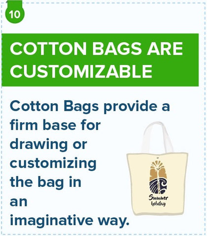 Cotton Bags Are Customizable