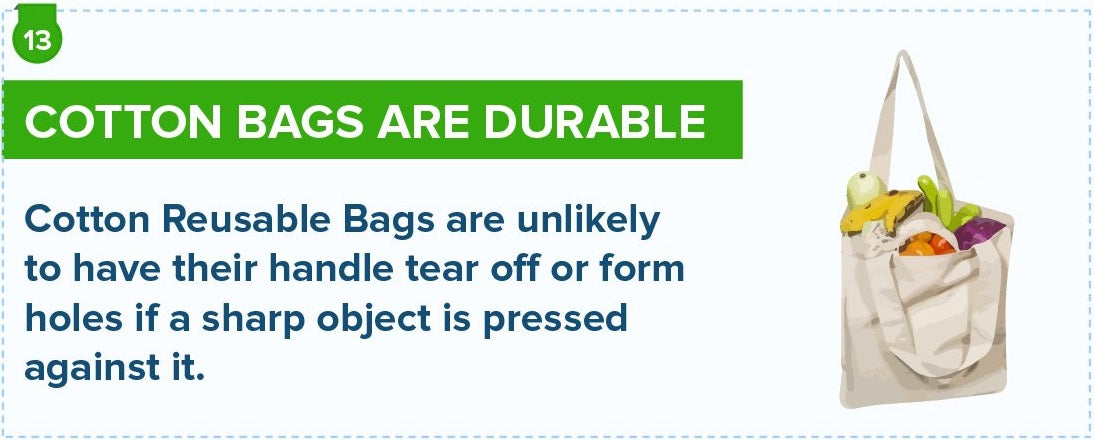 Cotton Bags Are Durable