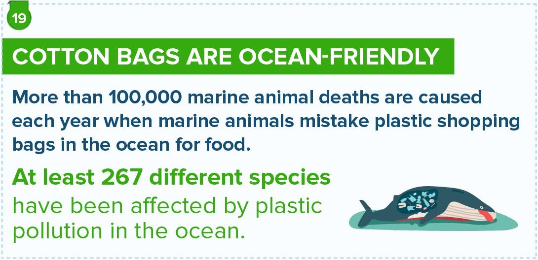 Cotton Bags Are Ocean-Friendly