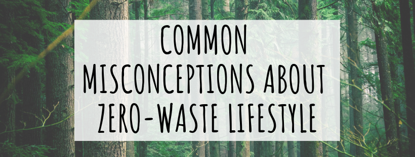 misconceptions about zero waste