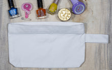 Load image into Gallery viewer, Multipurpose Cotton Canvas Zipper Pouch